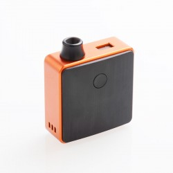 SXK Bantam Box 30W VW Variable Wattage All-in-one Mod Pod Kit - Orange, 5~30W, 1 x 18350