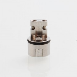 YFTK TF Taifun GTR RTA Replacement MTL Positive Pole - Silver, 316 Stainless Steel, 9.9mm Diameter