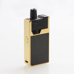 Authentic GeekVape Frenzy 950mAh Pod System Starter Kit - Gold Carbon Fiber, 2ml, 1.2 Ohm