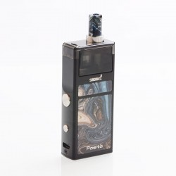 Authentic Smoant Pasito 25W 1100mAh Mod Pod System Starter Kit - Carbon Black, 3ml