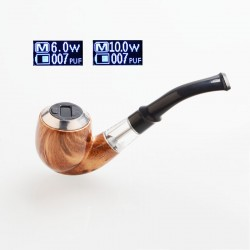 Authentic Marvec MV 10W 450mAh E-Pipe Pod Vape Kit - Brown, 2.0ml