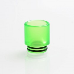 810 Drip Tip for TFV8 / TFV12 Tank / Goon / Kennedy / Reload RDA - Green, Acrylic, 18mm
