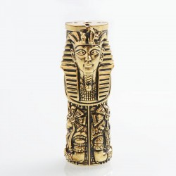 Authentic Onetop Vape Pharaoh Mechanical Mod - Brass, Brass, 1 x 18650 / 21700