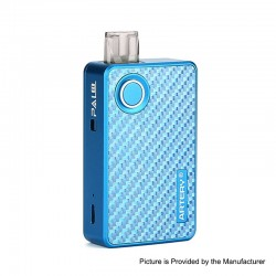 Authentic Artery Pal 2 1000mAh Pod System Starter Kit - Blue, Aluminum + Carbon Fiber, 2ml, 0.6ohm / 1.2ohm