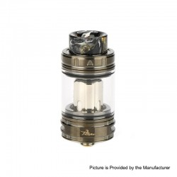 Authentic Ehpro Raptor Sub Ohm Tank Clearomizer Atomizer - Gun Metal, SS + Glass, 4ml, 0.15ohm, 25mm