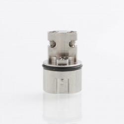 ShenRay TF Taifun GTR RTA DL Positive Pole - Silver, 316 Stainless Steel