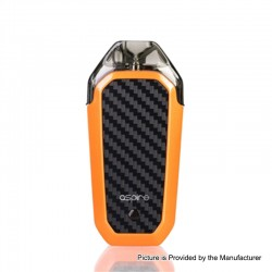 Authentic Aspire AVP 12W 700mAh All-in-one Pod System Starter Kit - Orange, 2ml, 1.2ohm