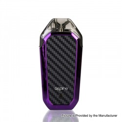 Authentic Aspire AVP 12W 700mAh All-in-one Pod System Starter Kit - Purple, 2ml, 1.2ohm