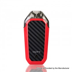 Authentic Aspire AVP 12W 700mAh All-in-one Pod System Starter Kit - Red, 2ml, 1.2ohm