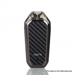 Authentic Aspire AVP 12W 700mAh All-in-one Pod System Starter Kit - Grey, 2ml, 1.2ohm