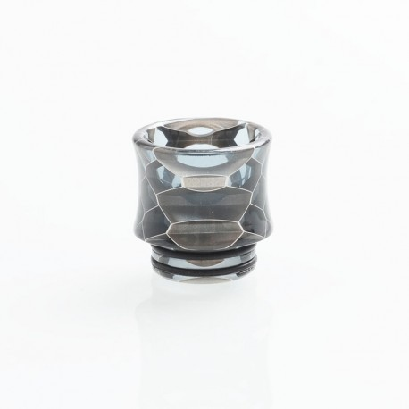 Authentic Vapesoon DT271-H 810 Replacement Drip Tip TFV12 Tank, Goon RDA - Black, Resin, 17mm