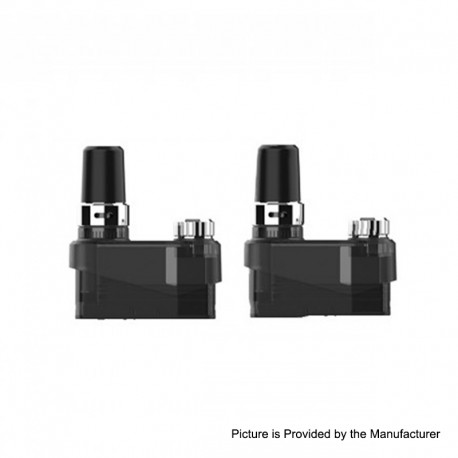 Authentic Nikola Antares Kit Replacement Pod Cartridge - Black, 2ml, 0.6ohm (2 PCS)