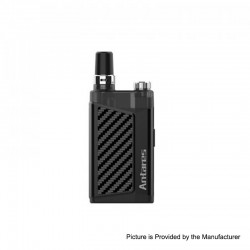 Authentic Nikola Antares Vape 1200mAh Pod System Starter Kit - Black, Zinc Alloy, 2ml, 0.6 / 0.7ohm