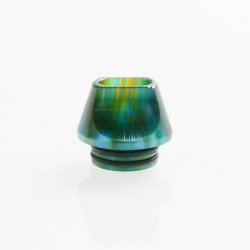 Authentic Vapesoon DT231-G 810 Drip Tip for TFV8 / TFV12 Tank / Goon / Kennedy / Reload RDA - Green, Resin, 15.6mm