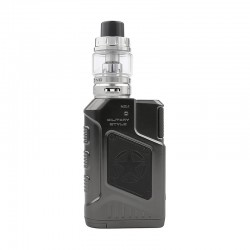 Authentic Tesla P226 220W TC VW Variable Wattage Box Mod + Tind Tank Kit - Gun Metal, 7~220W, 2 x 18650, 4.5ml