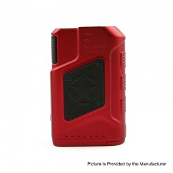 Authentic Tesla P226 220W TC VW Variable Wattage Box Mod - Red, 7~220W, 2 x 18650
