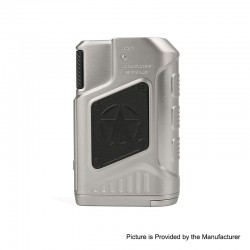 Authentic Tesla P226 220W TC VW Variable Wattage Box Mod - Silver, 7~220W, 2 x 18650