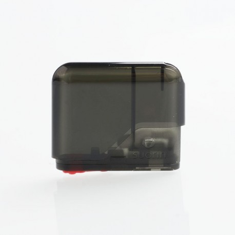 Authentic Suorin Air V2 Pod System Replacement Pod Cartridge - Black, 2ml, 1.2ohm