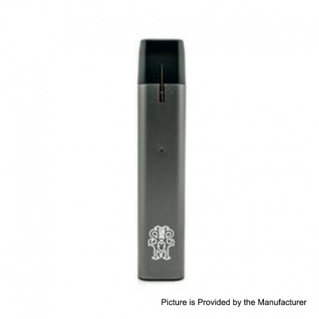 Authentic asMODus Flow V1.5 500mAh Ultra-Portable Pod System Starter Kit - Grey, 2ml, 2.5ohm