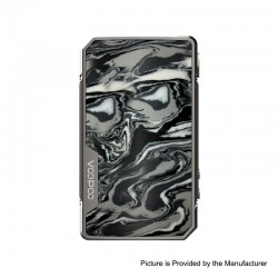 Authentic VOOPOO DRAG 2 Platinum 177W TC VW Variable Wattage Box Mod - Platinum-Ink, 5~177W, 100~315'C (200~600'F), 2 x 18650