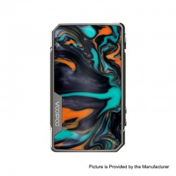 Authentic VOOPOO DRAG 2 Platinum 177W TC VW Variable Wattage Box Mod - Platinum-Dawn, 5~177W, 100~315'C (200~600'F), 2 x 18650