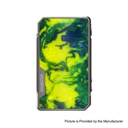 Authentic VOOPOO DRAG 2 Platinum 177W TC VW Variable Wattage Box Mod - Platinum-Island, 5~177W, 100~315'C (200~600'F), 2 x 18650