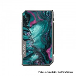 Authentic VOOPOO DRAG 2 Platinum 177W TC VW Variable Wattage Box Mod - Platinum-Aurora, 5~177W, 100~315'C (200~600'F), 2 x 18650