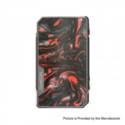 Authentic VOOPOO DRAG 2 Platinum 177W TC VW Variable Wattage Box Mod - Scarlet, 5~177W, 100~315'C (200~600'F), 2 x 18650