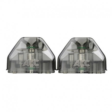 Authentic Aspire AVP AIO Kit Replacement Pod Cotton Coil Standard Version - Black, 2ml, 1.2ohm (2 PCS)