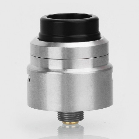 Kindbright Armor 1.0 Style RDA Rebuildable Dripping Atomizer w/ BF Pin - Silver, 316 Stainless Steel, 22mm Diameter