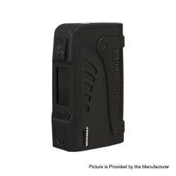 Authentic Wismec Reuleaux Tinker 2 200W TC VW Variable Wattage Waterproof Box Mod - Black, 1~200W, 2 x 18650