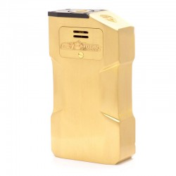 Kindbright Aventador Style Mechanical Box Mod - Brass, Brass, 2 x 18650