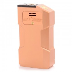 Kindbright Aventador Style Mechanical Box Mod - Copper Tone, Aluminum, 2 x 18650