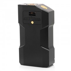 Kindbright Aventador Style Mechanical Box Mod - Black, Aluminum, 2 x 18650