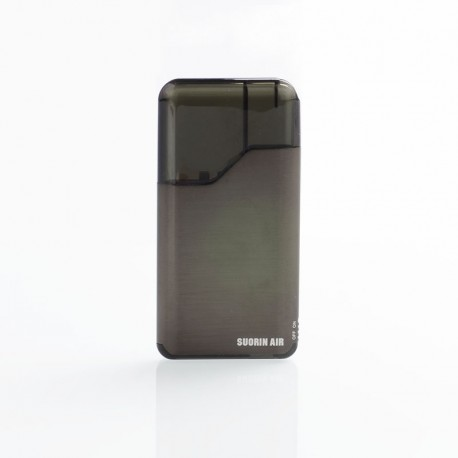 Authentic Suorin Air V2 16W 400mAh Pod System Starter Kit - Gun Metal, 2ml, 1.2ohm
