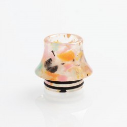 810 Replacement Drip Tip for TFV8 / TFV12 Tank / 528 Goon / Kennedy / Reload RDA - Multicolored, Resin, 16.1mm, Glow-in-the-Dark