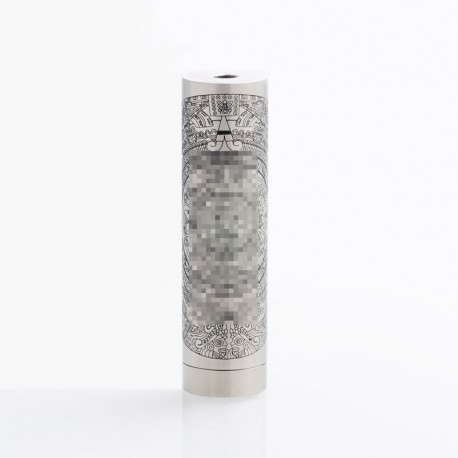 ShenRay Summon Style Mechanical Mod - Silver, Stainless Steel, 1 x 18650 / 21700, 24.5mm Diameter