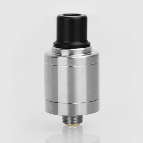 Kindbright Speed Revolution Style RDA Rebuildable Dripping Atomizer - Silver, 316 Stainless Steel, 18mm Diameter