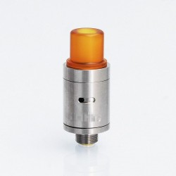 Kindbright Hellfire Viper V2 Style RDA Rebuildable Dripping Atomizer w/ BF Pin - Silver, 316 Stainless Steel, 14mm Diameter