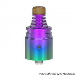 Authentic Vandy Vape Berserker V2 MTL RDA Rebuildable Dripping Atomizer - Rainbow, 1.5ml, Stainless Steel, 22mm