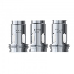Authentic SMOKTech SMOK Replacement Mesh Coil for TFV16 Tank- Silver, Nickel-chrome, 0.17ohm (120W) (3 PCS)