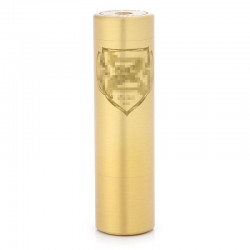 Kindbright Zeus Style Mechanical Mod - Brass, Brass, 1 x 18650