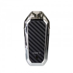 Authentic Aspire AVP 12W 700mAh All-in-one Pod System Starter Kit - Silver, 2ml, 1.2ohm