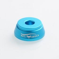 Authentic Kumiho 510 Holder Stand for RDA / RTA / RDTA Vape Atomizer - Blue, Aluminum
