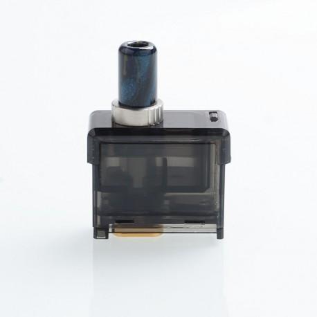 Authentic Smoant Pasito Pod Cartridge w/ 0.6ohm DTL Mesh Coil + 1.4ohm MTL Ni80 Coil for Pasito Pod System - Black, 3ml