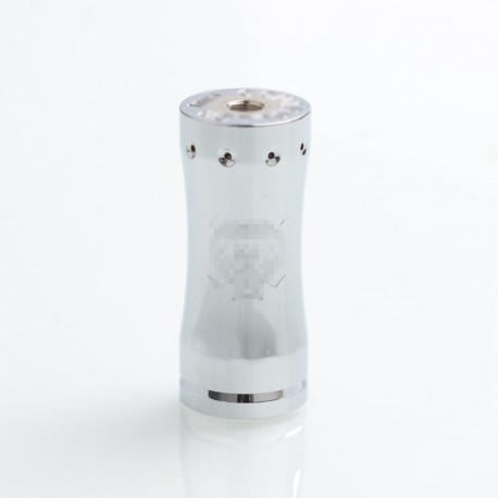 Takeover Mini Style Hybrid Mechanical Mod - Silver, Brass, 1 x 18350
