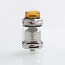 Authentic ThunderHead Creations THC Tauren One RTA Rebuildable Tank Atomizer - Silver, 2.0 / 4.5ml, 24mm Diameter