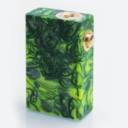 Authentic Wotofo Stentorian RAM Bottom Feeder Squonk Mechanical Box Mod - Green, Resin, 1 x 18650, 7ml Bottle