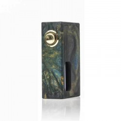 Authentic Wotofo Stentorian RAM Bottom Feeder Squonk Mechanical Box Mod - Stable Wood, Resin, 1 x 18650, 7ml Bottle