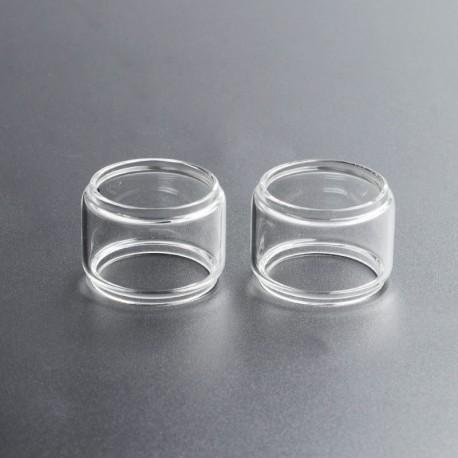 Authentic Steam Crave Glaz RTA V2 Replacement Bubble Glass Tank Tube - Transparent, 10ml (2 PCS)